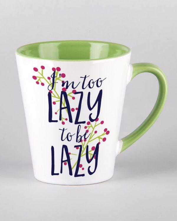 Kubek ceramiczny latte z nadrukiem