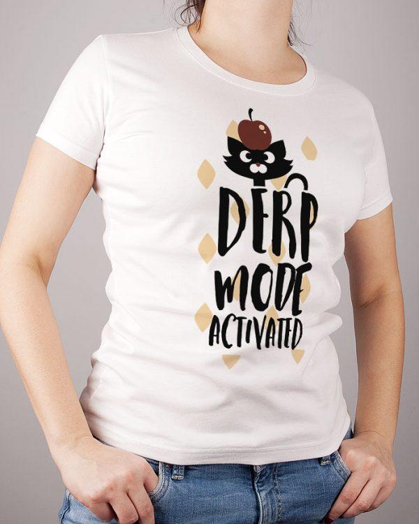 Tshirt damski biały z nadrukiem - bawełna premium - ekologiczny nadruk - Photoninja.pl