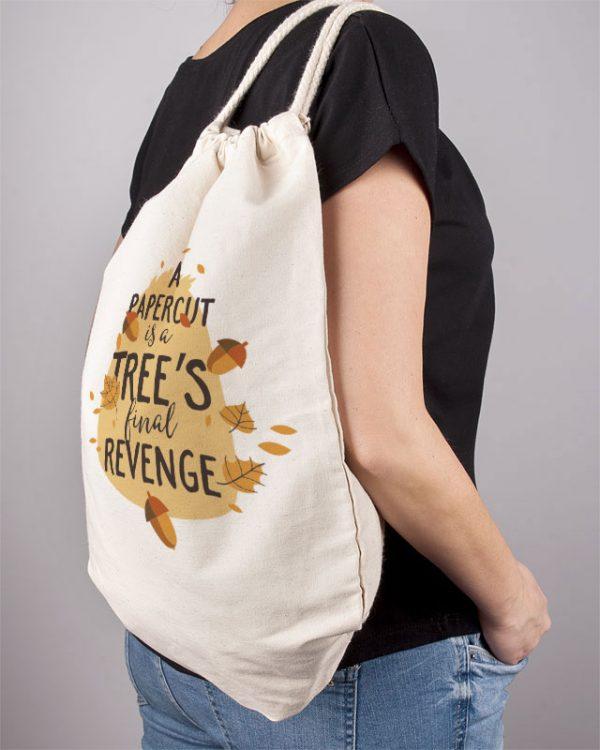 1e83bcfdf1eea Plecak torba eko bawełna organiczna modny nadruk ekologicznymi farbami -  Photoninja.pl