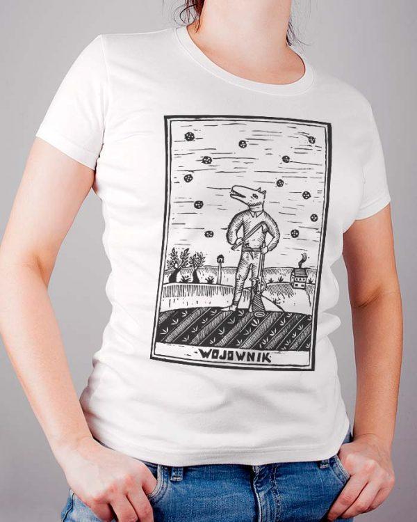 T-shirt damski z nadrukiem Sylwia Zawiślak Pracownia Sylwii