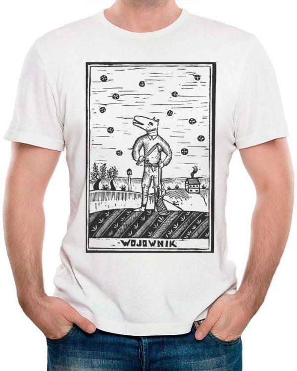 T-shirt męski z nadrukiem Sylwia Zawiślak Pracownia Sylwii
