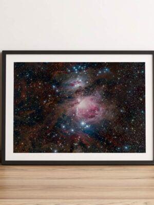 Wielka Mgławica Oriona Z głową w gwiazdach Photoninja.pl